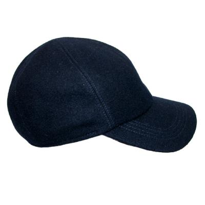 0a2876c81f32 Wigens Kent Classic Wool Baseball Cap With Earflaps By Navy 60, $72 ...
