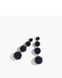 J.Crew Beaded Ball Earrings