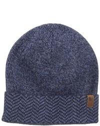 Ben Sherman Chevron Cuff Beanie Hat