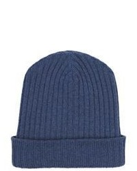 The Elder Statesman Cashmere Summer Beanie Light Blue