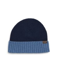 Hickey Freeman Colorblock Cashmere Beanie