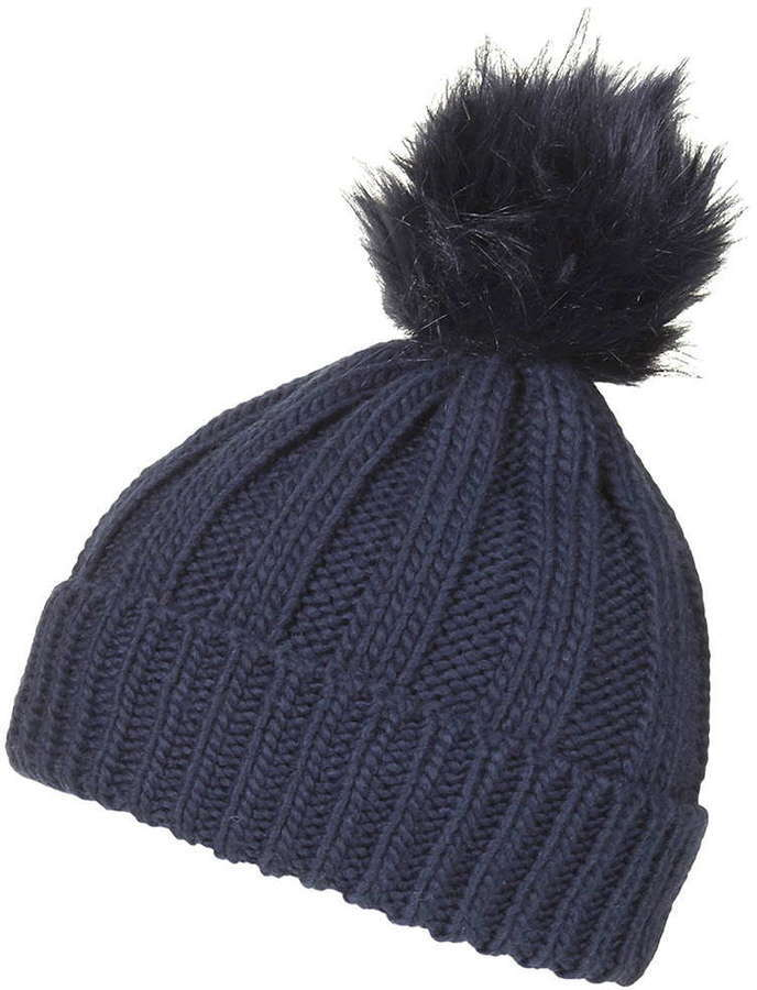 ... Topshop Faux Fur Pom Beanie Hat ... 095d3af2a9c
