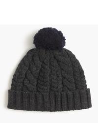J.Crew Heathered Lambswool Beanie Hat