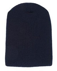 The Elder Statesman Kisser Beanie Blue