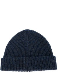 Lanvin Turned Up Ribbed Beanie