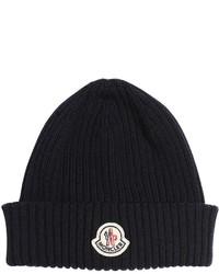 Moncler Logo Reverse Wool Hat
