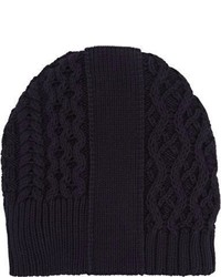 Maison Margiela Mixed Stitch Beanie Blue