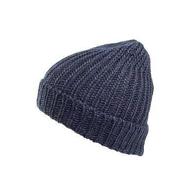 Calcu Rib Beanie Hat Navy. Navy Beanie by Original Penguin 2a8e9c6f312