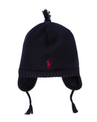Ralph Lauren Kids Earflap Knitted Hat