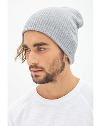 ... Forever 21 Ribbed Knit Beanie ... fbc72eb68a8