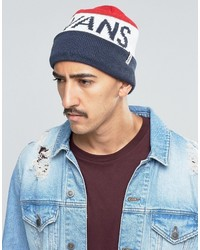 Vans Stitch Beanie In Blue Va2wozjcg