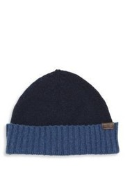 Hickey Freeman Two Toned Cashmere Beanie