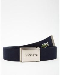 Lacoste Logo Webbing Belt