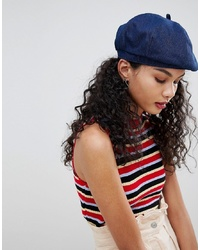 ASOS DESIGN Denim Beret