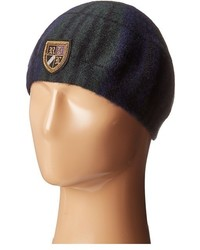 Polo Ralph Lauren Tartan Beret With Embroidery Berets