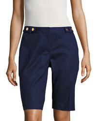 Michael Kors Michl Kors Solid Bermuda Shorts