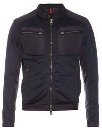 Moncler Fabrice Mesh Biker Jacket