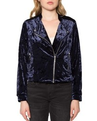Velvet moto jacket medium 5308698