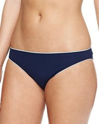 Tory Burch Riviera Contrast Trim Swim Bikini Bottom