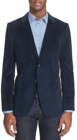 Armani Collezioni Trim Fit Microfiber Sport Coat | Where to buy ...