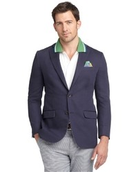 Brooks Brothers Fitzgerald Fit Cotton Linen Sport Coat