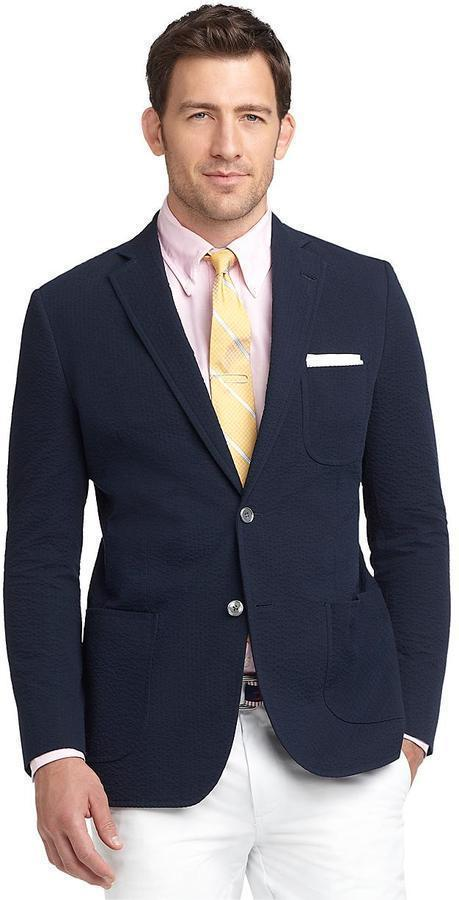 Brooks Brothers Fitzgerald Fit Seersucker Sport Coat | Where to ...
