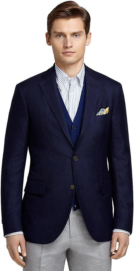 Images of Navy Sport Coat - Reikian