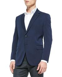 Giorgio Armani Calvary Twill Soft Jacket Navy