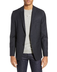 Theory Clinton Yarn Dyed Ponte Sport Coat