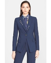 Versace Collection Eyelet Detail Jacket