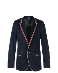 Gucci Contrast Piping Blazer