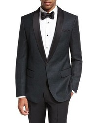 BOSS Deco Satin Collar Tuxedo Jacket