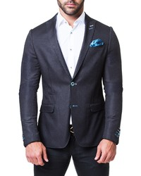 Maceoo Descarte City Jacquard Blazer