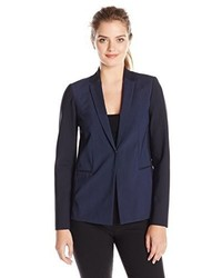 Elie Tahari Darcy Striped Suiting Blazer Jacket