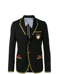 Gucci Embroidered Cambridge Jacket