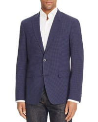 Tommy Hilfiger Gingham Seersucker Trim Fit Sport Coat