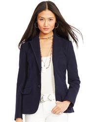 Polo Ralph Lauren Honeycomb Knit Blazer