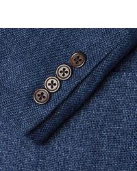 polo ralph lauren indigo slim fit woven linen blazer - Ralph Lauren Indigo