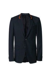 Givenchy Leather Detailed Blazer