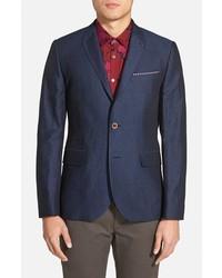Ted Baker London Niteyes Extra Trim Fit Linen Cotton Sport Coat