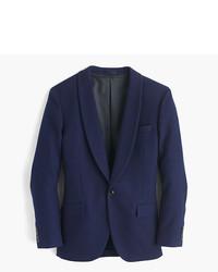 J.Crew Ludlow Shawl Collar Dinner Jacket In Fiore Cotton