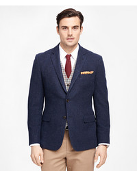 Brooks Brothers Milano Fit Two Button Wool Sport Coat