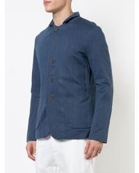 Casey Casey Notch Collar Single Breasted Jacket