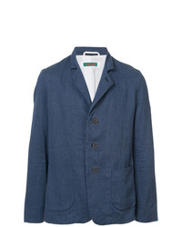 Casey Casey Notch Collar Single Breasted Jacket
