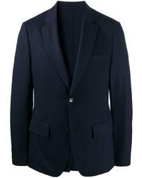 Salvatore Ferragamo Notch Lapel Single Breasted Blazer Jacket
