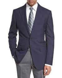Tom Ford Oconnor Base Plainweave Sport Coat Navy