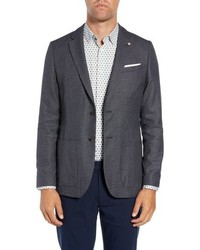 Ted Baker London Pebble Slim Fit Birds Eye Blazer