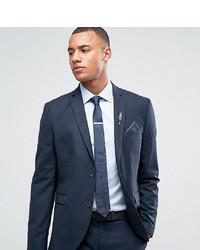 Jack & Jones Premium Slim Fit Suit Jacket In Navy