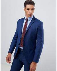 Jack & Jones Premium Suit Jacket In Slim Fit Blue