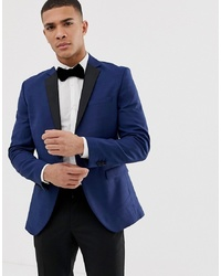 Jack & Jones Premium Tuxedo Suit Jacket With Contrast Lapel